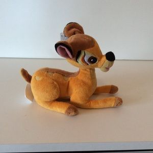 Disney Bambi Plush Deer Laying Down 9""